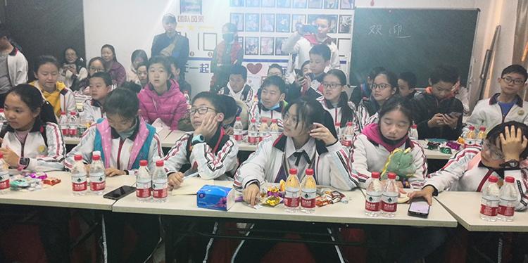 南城阳光第三小学校服学习课堂