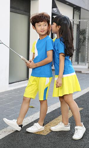 幼儿园园服套装订制小学生校服定制初中生校服定做学生校服工厂园服批发AM17TZ048BG