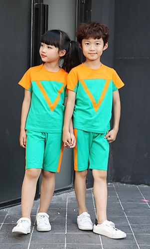 休闲学生T恤小童儿童校服定做AM17TZ053