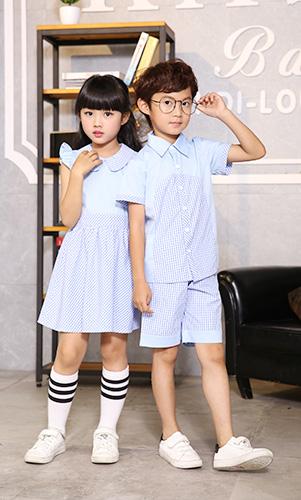 幼儿园衬衫套装英伦风学生校服AM17TZ063BG