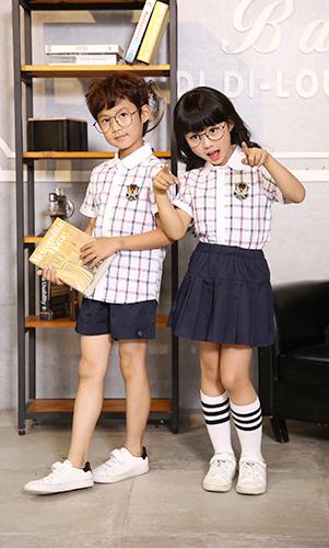 小学生英伦风礼服演出服男女童装定制AM17TZ077BG