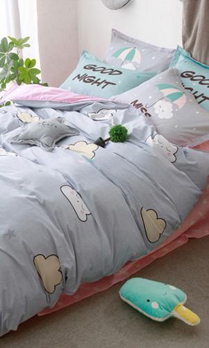 男女儿童小孩房学生宿舍床上用品