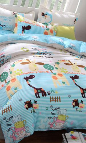 学生宿舍寝室儿童小孩纯棉床上用品