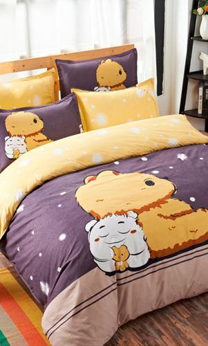 儿童小孩床单被罩床上用品