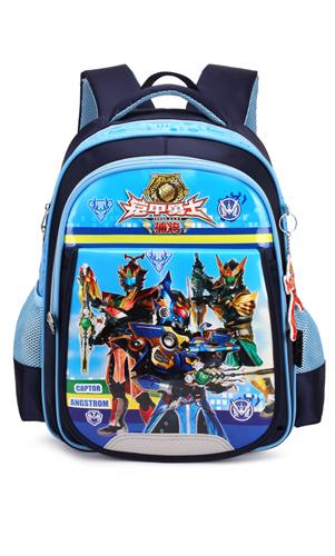 艾咪天使1-3-5年级 男生6-12周岁铠甲勇士儿童书包小学生卡通幼儿园背包