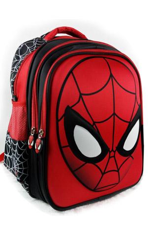 艾咪天使小学生男童双肩包3D蜘蛛侠书包儿童男孩6-12周岁幼儿园