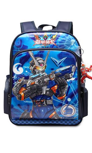 艾咪天使铠甲勇士减负双肩卡通背包幼儿园小学生一二三年级书包男童书包