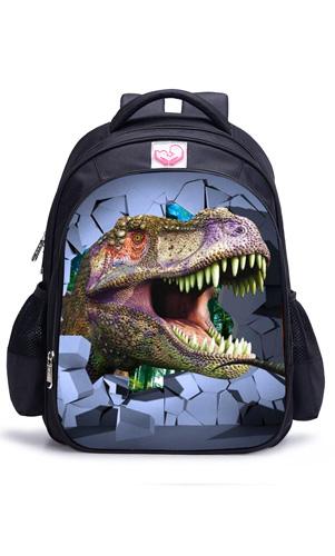 艾咪天使恐龙儿童背包7-12周岁男孩双肩卡通书包