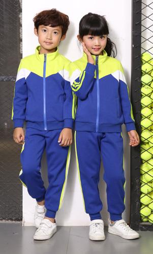 艾咪天使幼儿园秋冬套装运动装外套校服AM17TZ015