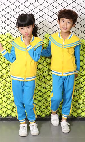 新颖幼儿园园服运动套装园服订做AM17TZ008