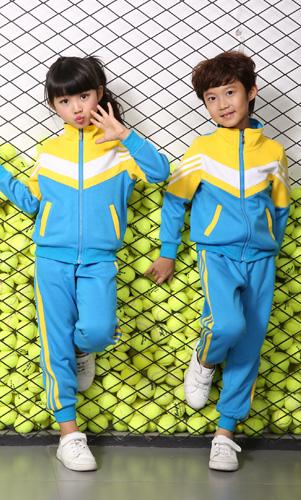 秋冬学生运动装套装幼儿园外套校服AM17TZ011