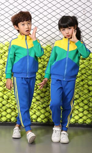 艾咪天使园服定制幼儿园园服秋季套装运动装AM17TZ014