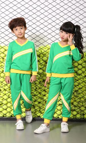 艾咪天使园服定制长袖幼儿园园服运动装AM17TZ018