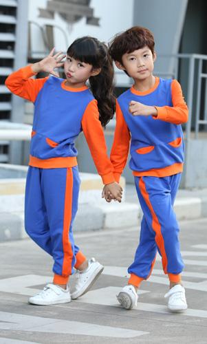 艾咪天使幼儿园园服定制园服春秋款套装AM17TZ019