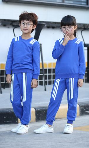 学生休闲套装定制长袖套装运动秋冬装校服AM17TZ022