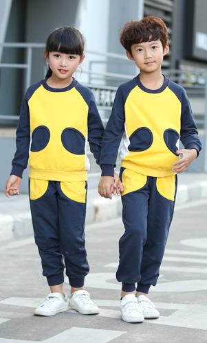 幼儿园园服运动装校服学生休闲园服套装AM17TZ025