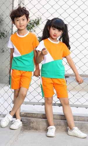 幼儿园园服时尚学生校服套装定制AM17TZ051