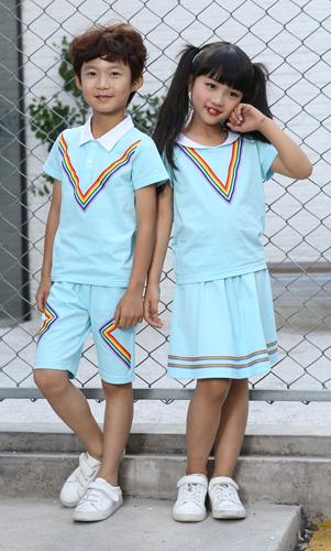 时尚学生校服套装幼儿园园服定制AM17TZ046