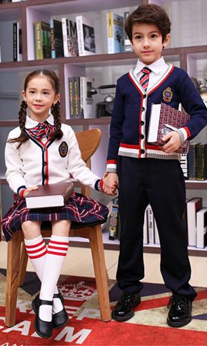 艾咪天使 校服高端定制,贵族学校中小学班服 校服定制