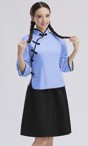 艾咪天使 民族风学生装 女装 初中 高中学生装