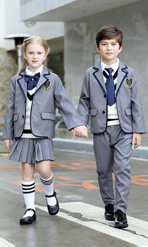 艾咪天使 高档校服 时尚英校服西装 三件套装