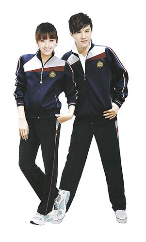 幼儿园 中小学运动套装 校服装 时尚高中校服套装