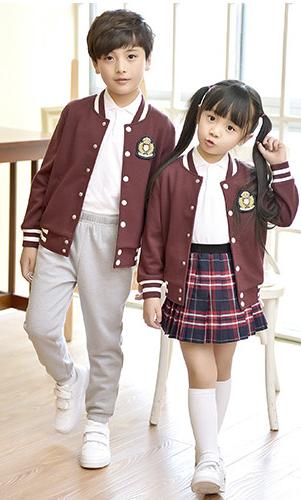 艾咪天使 运动校服 时尚英伦校服棒球服 套装 看样来样定制