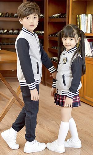 艾咪天使 高档运动校服 时尚英棒球服 套装