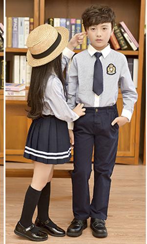 艾咪天使 夏款高档校服 时尚日系清新校服 套装