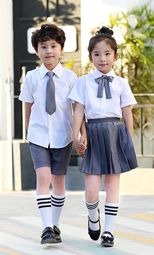 日系中小学 幼儿园 班服  看样 来样定制