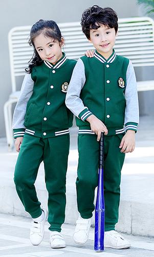 艾咪天使 运动校服 时尚校服棒球服套装 校服看样来样定制