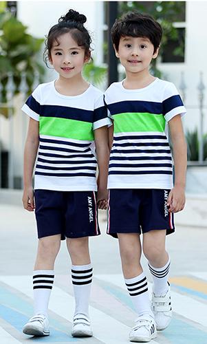 幼儿园园服 班服 夏季运动套装校服看样来样定制
