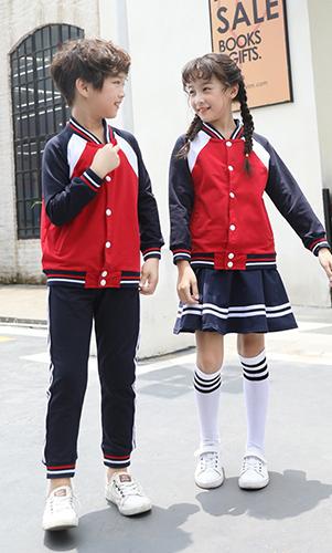 新款棒球服运动校服套装