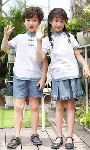 艾咪天使出品夏季民族风校服
