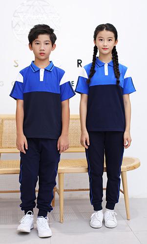 夏装短袖校服套装运动服