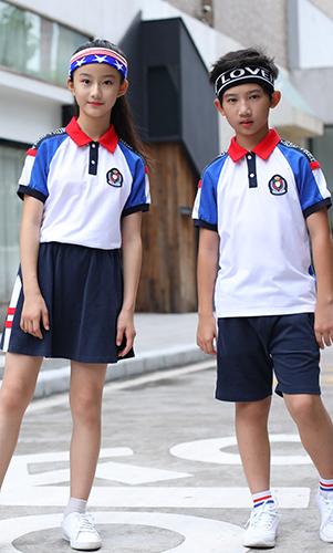 2019校服短袖时尚运动服套装