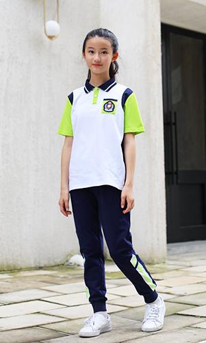 短袖运动服校服套装