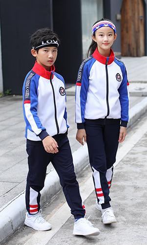 时尚活力校服简约风运动服