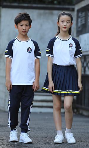 短袖校服套装