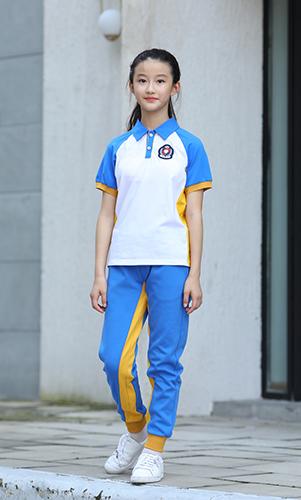 校服夏装棒球服短袖衫