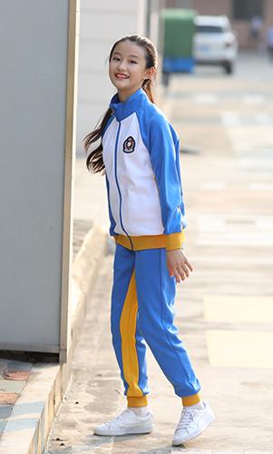 棒球服型运动校服套装