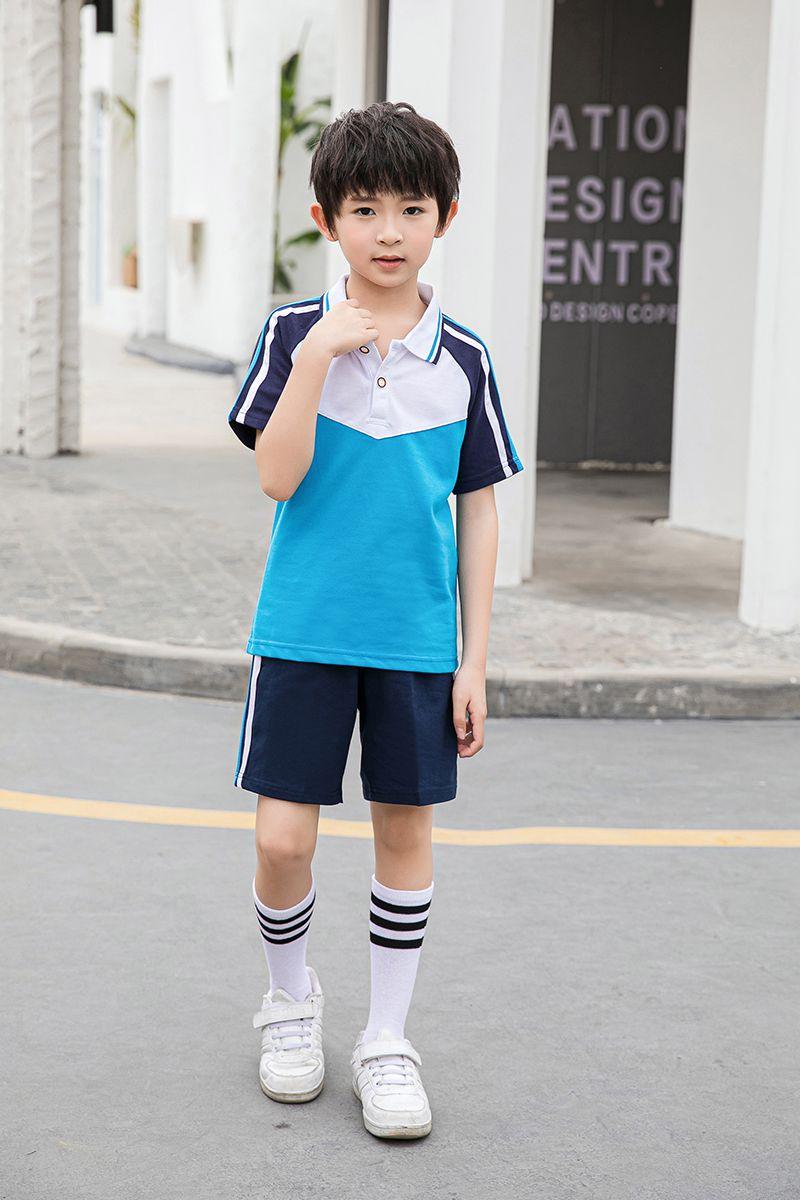 夏款运动装中小学生幼儿园园服校服