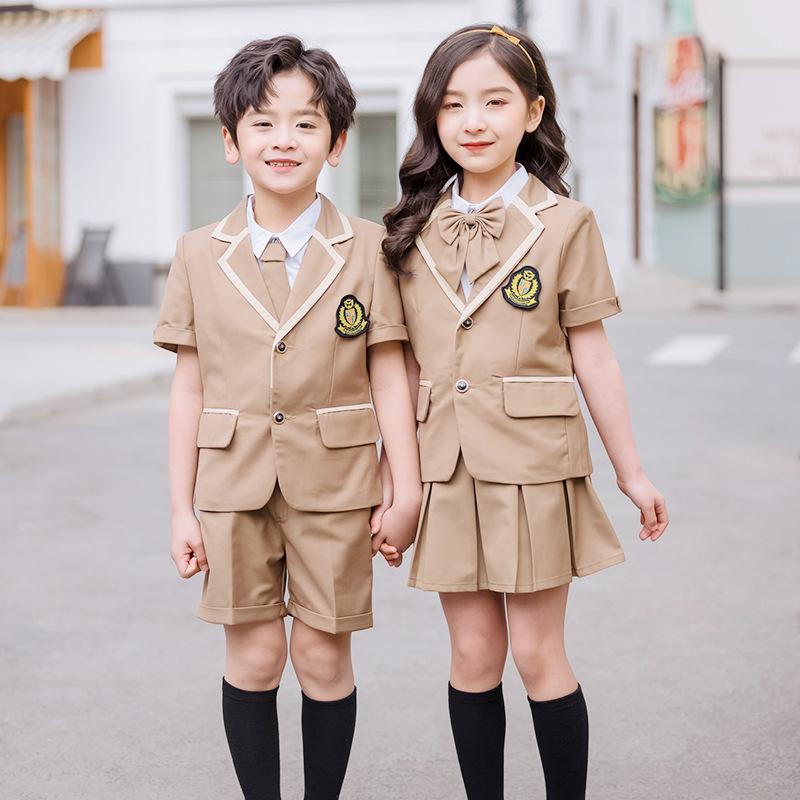 艾咪天使东莞幼儿园气质英伦风园服校服
