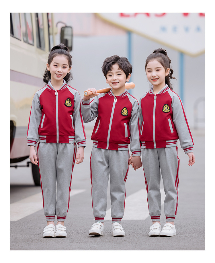 艾咪天使幼儿园秋冬款棒球服