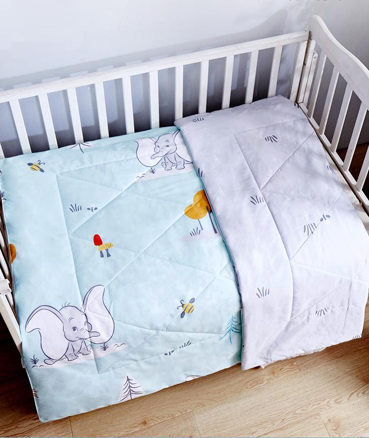 迪士尼小飞象幼儿园被子三件套 婴儿午睡被六件套