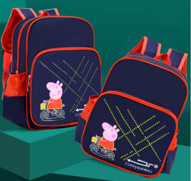 艾咪天使小猪佩奇减负双肩包幼儿园入园书包