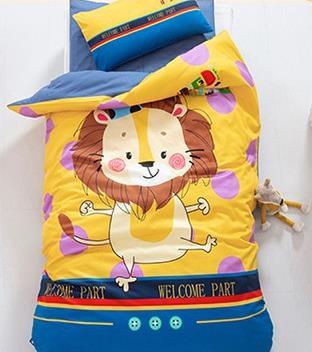 秋冬季卡通幼儿园被子三件套 厂家定制被子六件套