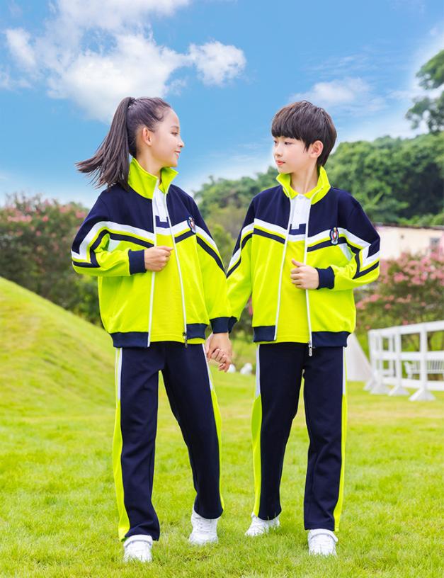 2021新款小学生校服儿童韩版休闲两件套幼儿园园服
